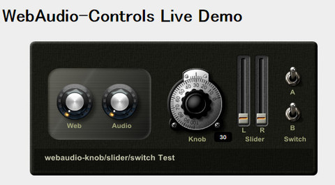 Webaudiocontrols
